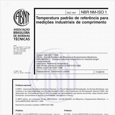 NBRNM-ISO1 de 12/1997