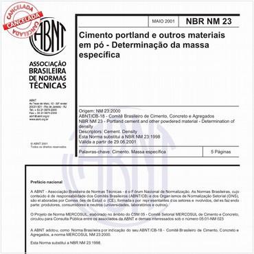 NBRNM23 de 05/2001