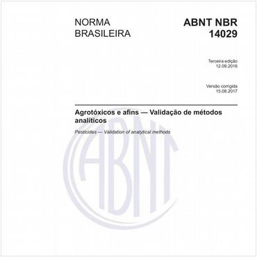 NBR14029 de 09/2016