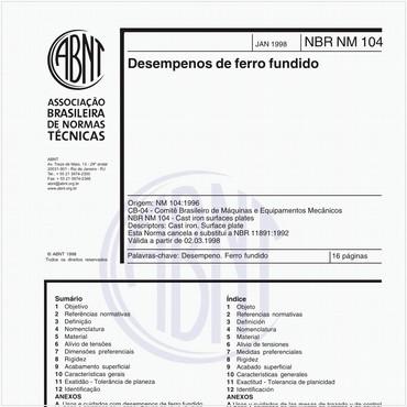 NBRNM104 de 01/1998