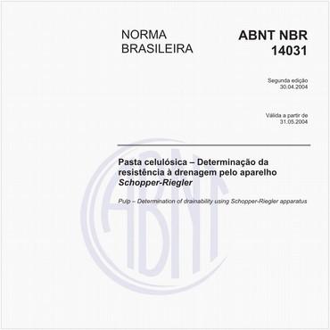 NBR14031 de 04/2004