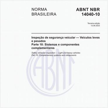 NBR14040-10 de 12/2017