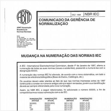 NBRIEC61689 de 03/1998