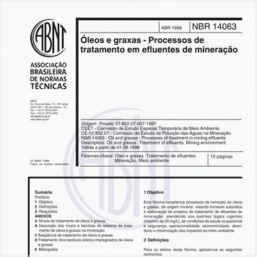 NBR14063 de 04/1998