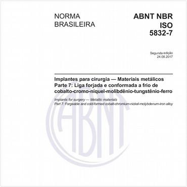 NBRISO5832-7 de 08/2017