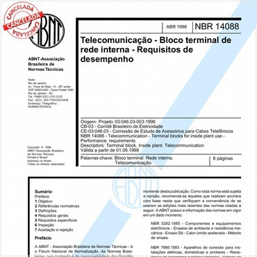 NBR14088 de 04/1998