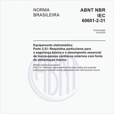 NBRIEC60601-2-31 de 05/2014