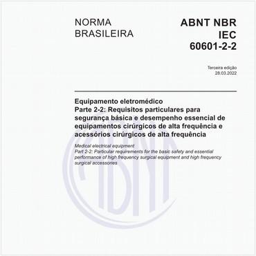 NBRIEC60601-2-2 de 12/2013