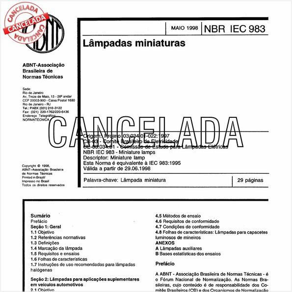 NBRIEC60983 de 06/2003