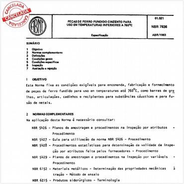 NBR7836 de 04/1983