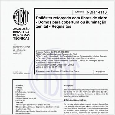 NBR14116 de 06/1998