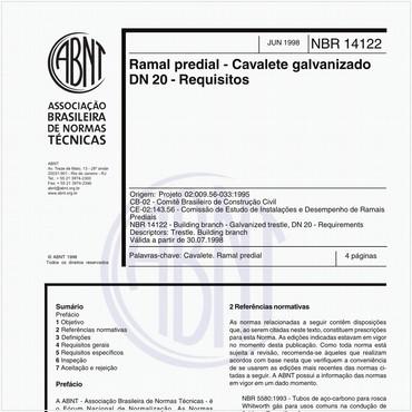 NBR14122 de 06/1998