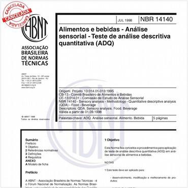 NBR14140 de 07/1998