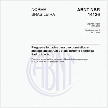 NBR14136 de 09/2012