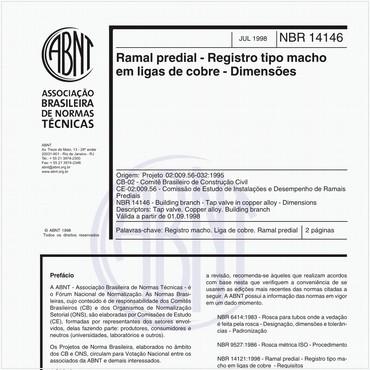 NBR14146 de 07/1998