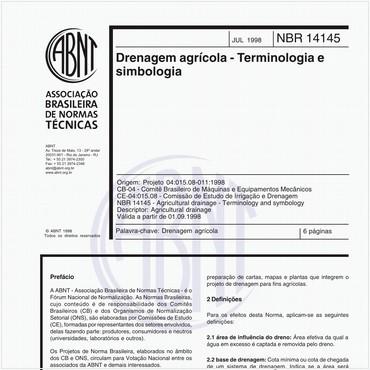 NBR14145 de 07/1998