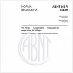 NBR14139 de 08/2013