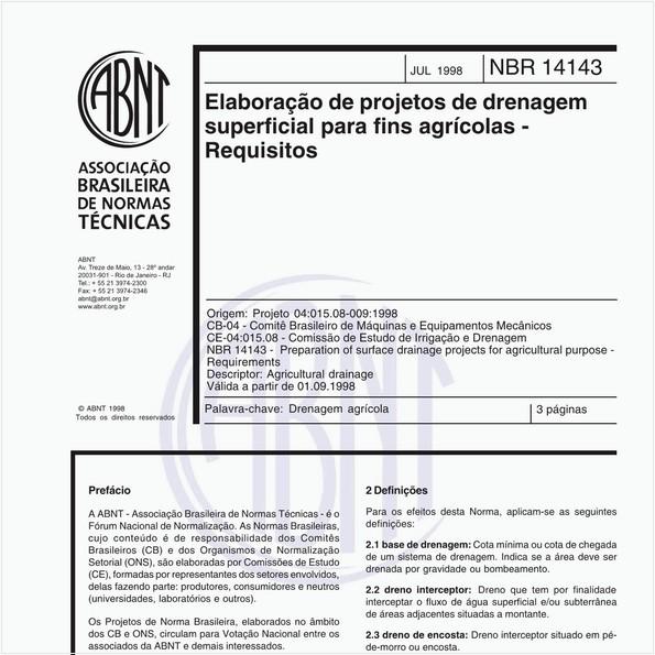 NBR14143 de 07/1998