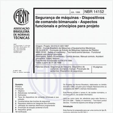 NBR14152 de 07/1998