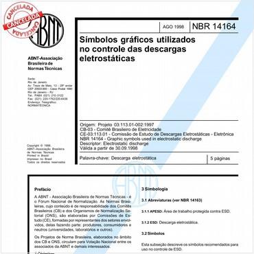 NBR14164 de 08/1998