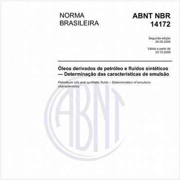 NBR14172 de 09/2009