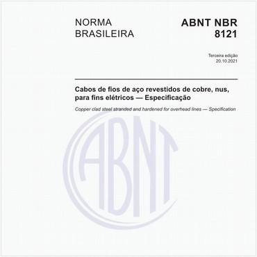 NBR8121 de 10/2013
