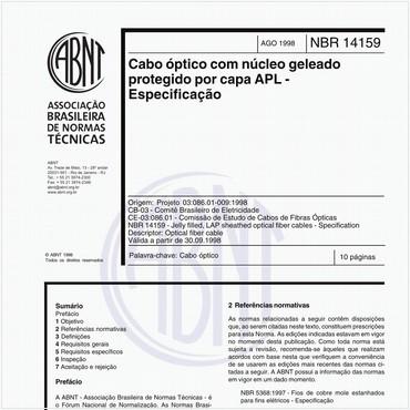 NBR14159 de 08/1998