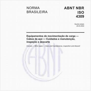 NBRISO4309 de 01/2009