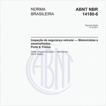 NBR14180-6 de 12/2017