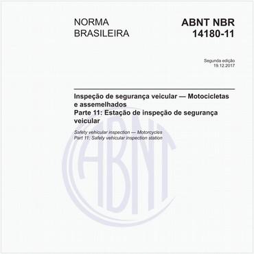 NBR14180-11 de 12/2017