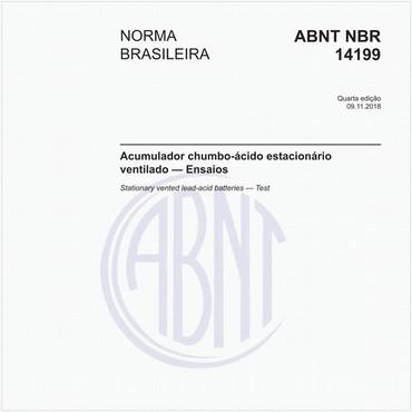 NBR14199 de 11/2018