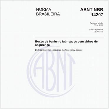 NBR14207 de 01/2009