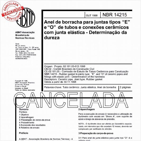 NBR14215 de 12/2005