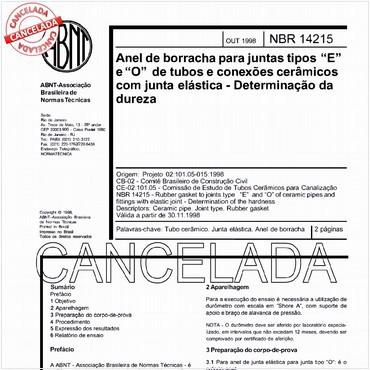 NBR14215 de 10/1998