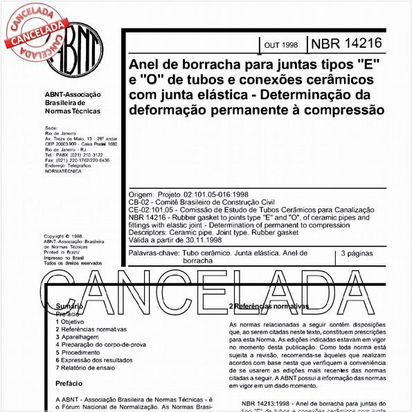 NBR14216 de 12/2005