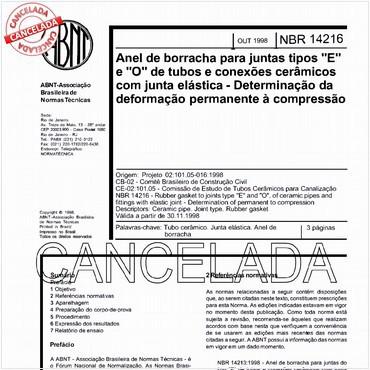 NBR14216 de 10/1998