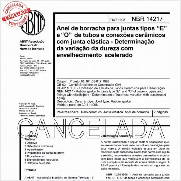 NBR14217 de 12/2005