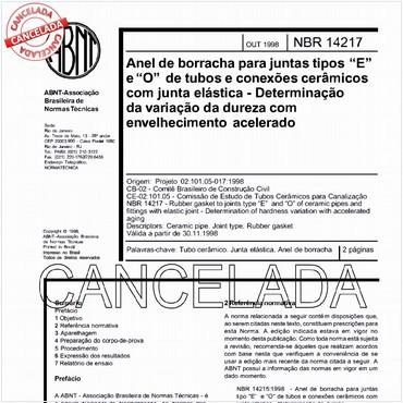 NBR14217 de 10/1998