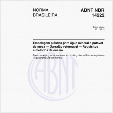 NBR14222 de 12/2019