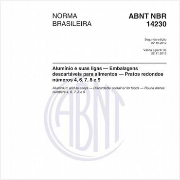NBR14230 de 10/2012