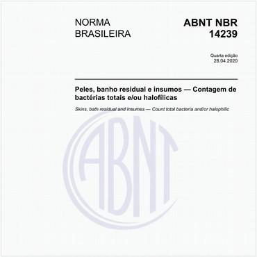 NBR14239 de 01/2013