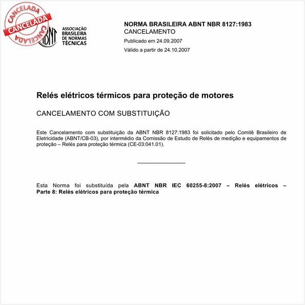 NBR8127 de 09/2007