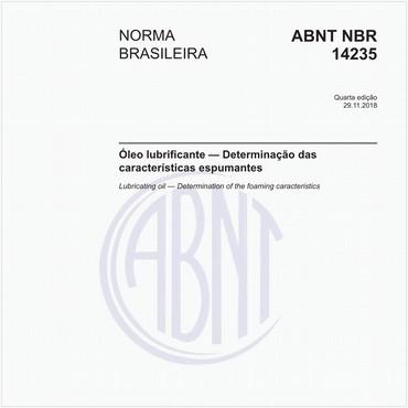 NBR14235 de 11/2018