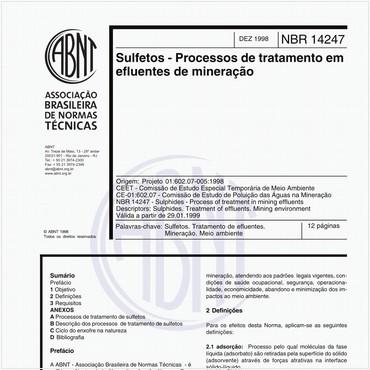 NBR14247 de 12/1998