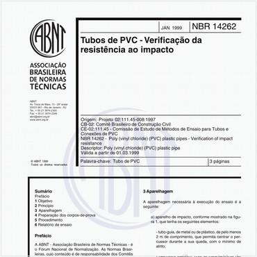 NBR14262 de 01/1999