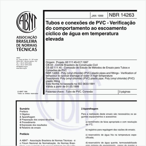 NBR14263 de 01/1999