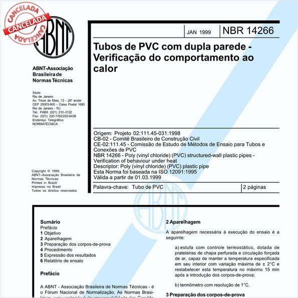 NBR14266 de 05/2020