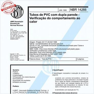 NBR14266 de 01/1999