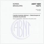 NBR14275