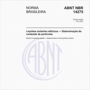 NBR14275 de 01/2021